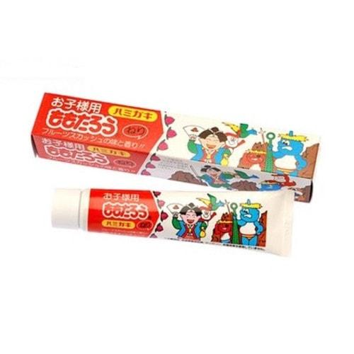 Fudo Kagaku Momotaro Зубная паста для защиты от кариеса и зубного камня (отбеливающая), 80 г./000340