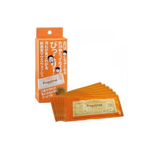 PIERAS Propolinse Family Type Ополаскиватель для зубов с прополисом, мини упаковка, саше* 12 мл
