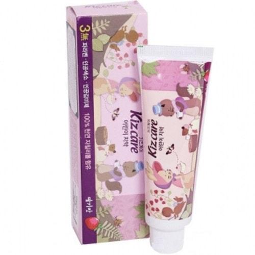MUKUNGHWA Kizcare Детская гелевая зубная паста со вкусом клубники для детей от 2 лет, 75 г./901673