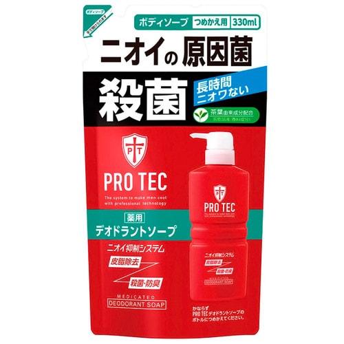 LION  Pro Tec Мужское дезодорирующие жидкое мыло для тела с ментолом, с.у. 330 мл/ 163077