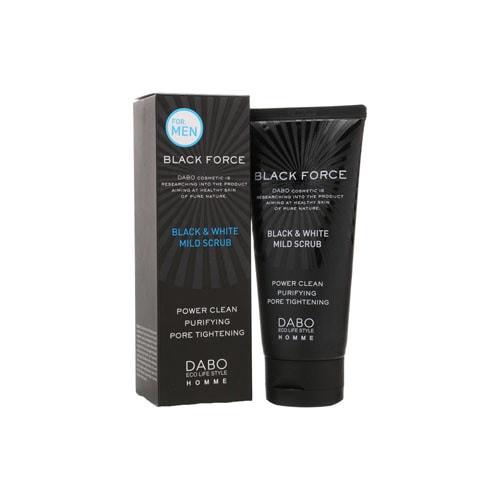 Dabo Homme Black Force Foam Cleanser Mens Face Foaming Cleansing Очищающая пенка для мужчин, 120 мл/ 952677