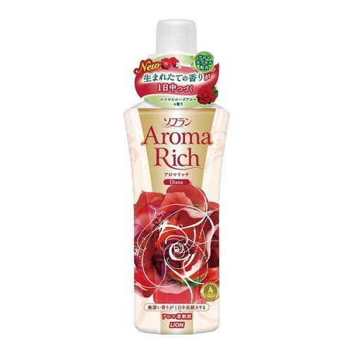 LION SOFLAN AROMA RICH DIANA Кондиционер для белья с ароматом натуральных масел
