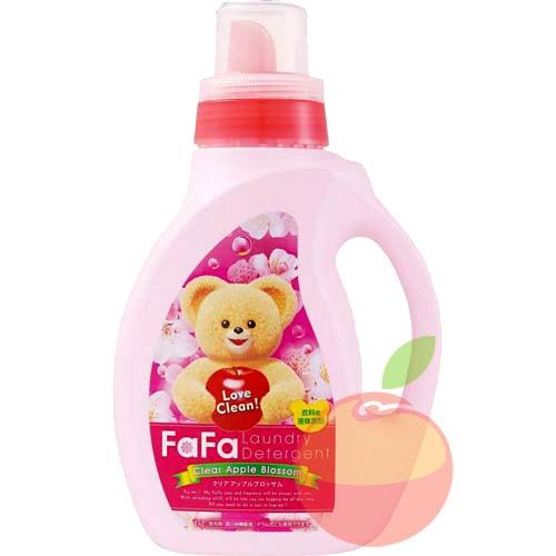 Nissan Ultra Fa-Fa Clear Apple Blossom средство для стирки детской одежды с аром яблока 1кг/142227