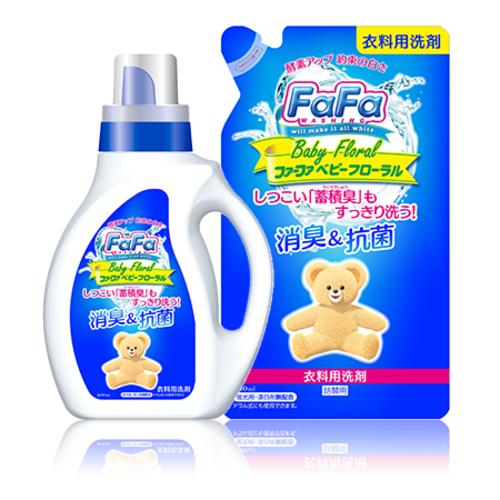 """Nissan FaFa"""" Жидкое средство для стирки белья с цветочно-лесным ароматом, см.бл."""