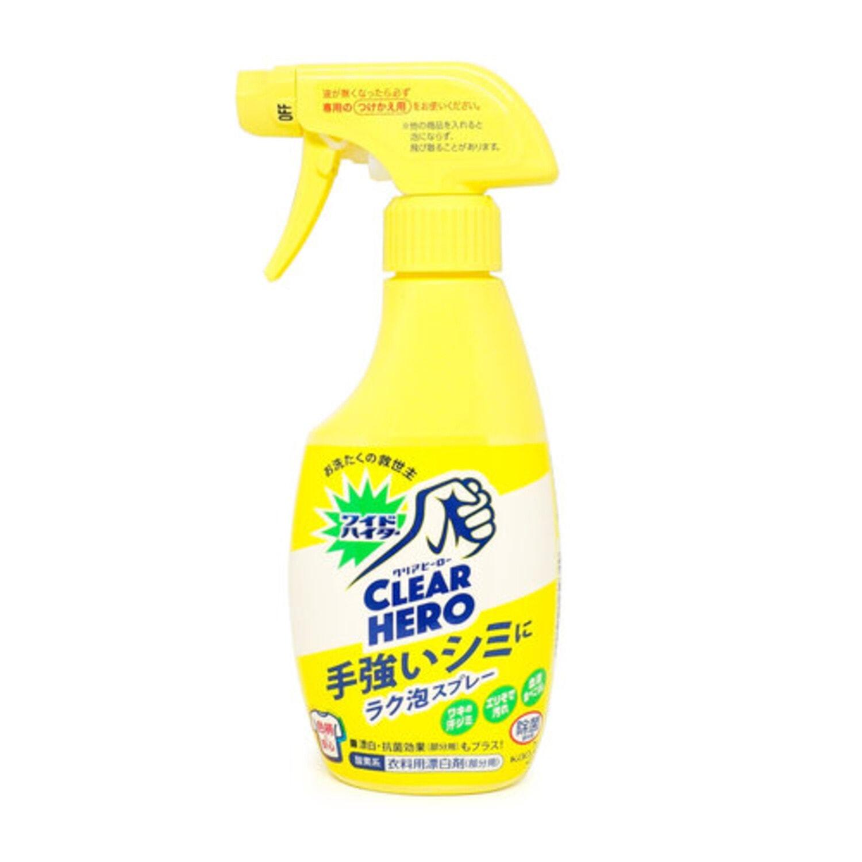 KAO «Wide whiter EX» Кислородный пятновыводитель для цветного белья.ю 300 мл / 259349
