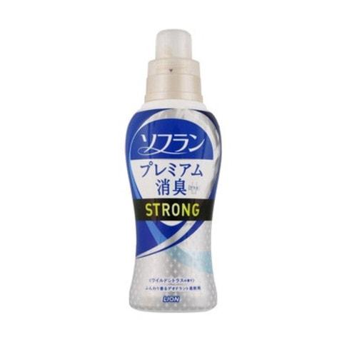 LION  Soflan Aroma Natural Кондиционер для белья усиленная формула с натуральным ароматом диких цитрусовых