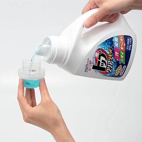 """LION """"ТОП-СИЛА ФЕРМЕНТОВ"""" Жидкое средство для стирки с ароматом свежести, 900 мл"""
