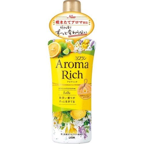 """Lion Aroma Rich """"Belle"""" Кондиционер для белья с фруктовым ароматом, цитрус"""