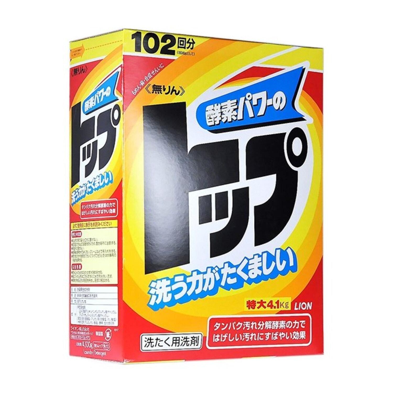 LION Стиральный порошок (концентрат) «Топ – сила ферментов» 3,2 кг