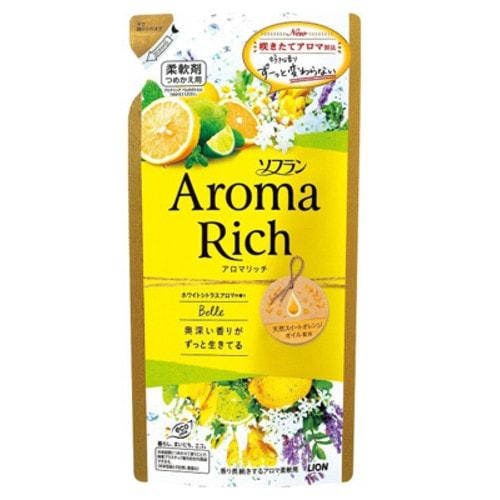 Lion Aroma Rich Belle Кондиционер для белья с ароматом цитрусовых, смен.бл.