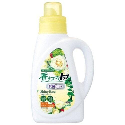 Lion Top Plus Shiny Rose Жидкое средство для стирки, дезодорирующее, с продолжительным ароматом, яркая роза, 850 мл