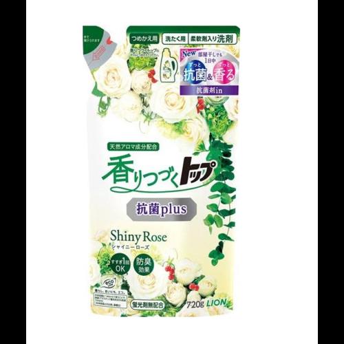 Lion Top Shiny Rose Жидкое средство для стирки аромат цветущих роз 720 гр сменный блок