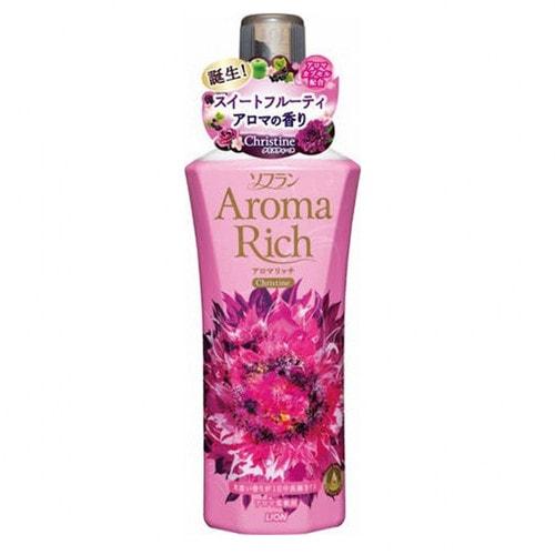 "LION ""SOFLAN AROMA RICH CHRISTINE"" Кондиционер для белья с ароматом натуральных масел, 600 мл /248521"