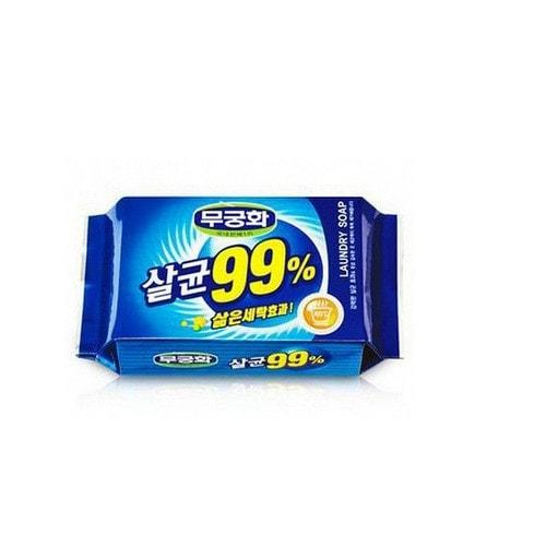 MUKUNGHWA Laundry soap  Хозяйственное мыло с повышенными отстирывающими свойствами стерилизующее 230 г./ 400350