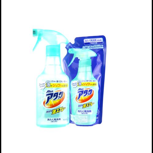 KAO Attack Спрей-пятновыводитель для обработки ткани перед стиркой (сменная упаковка), 250 мл./ 755049