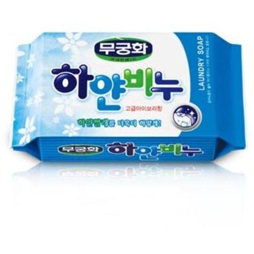MUKUNGHWA Отбеливающее хозяйственное мыло для стирки взрослого и детского белья, 230гр /400299