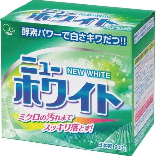 """Mitsuei """"New White"""" Стиральный порошок с ферментами и отбеливателем, 900 гр./060601"""