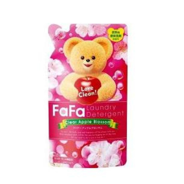 Nissan Ultra Fa-Fa Clear  средство для стирки детской одежды с ароматом яблока 0,9 кг/142234