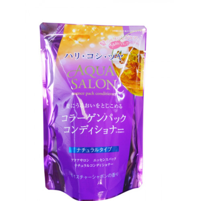 Cosmetex Roland Aqua Salon Бессиликон восстанавл кондиционер с эффектом коллагген маски 380мл\055449