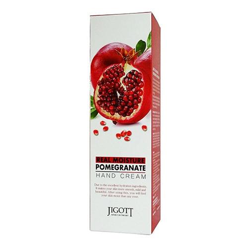 Крем для рук Jigott Real Moisture Pomegranate Hand Cream увлажняющий с экстрактом граната