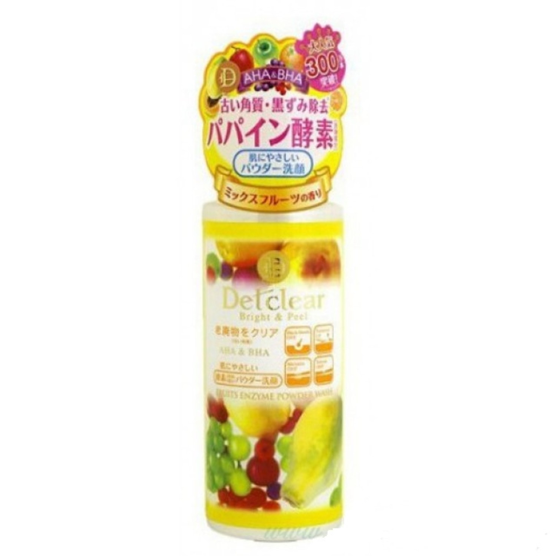 MEISHOKU AHA&BHA Fruits Enzyme Powder Wash  Пудра д/умывания с AHA и BHA с эффект пилинга,75г /226120