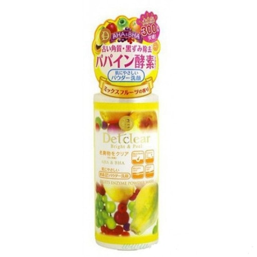 MEISHOKU AHA&BHA Fruits Enzyme Powder Wash  Пудра д/умывания с AHA и BHA с эффект пилинга, 75г