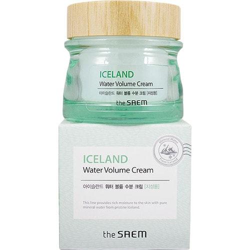 Saem Iceland Hydrating Cream Oily Skin Крем минеральный для жирной  кожи 80 мл/137147