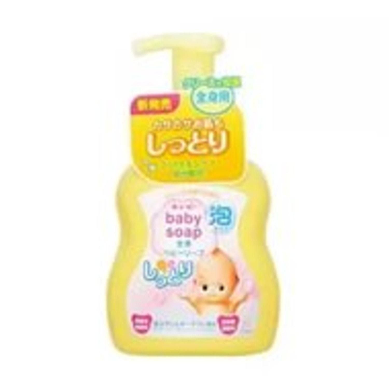 Cow Brand «Kewpie»  Детская увлажняющая крем-пенка для волос и тела