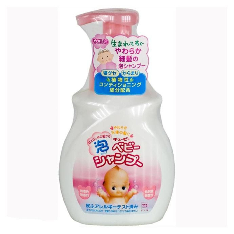 Cow Brand «Kewpie» Детский пенящийся шампунь для волос 350 мл, Артикул: 944700