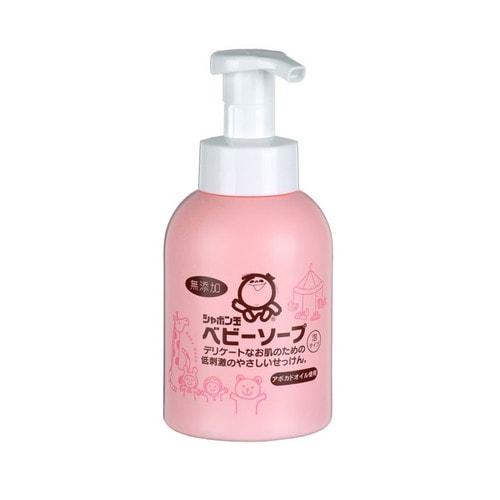 SHABONDAMA Пенное детское мыло для тела с маслом авокадо