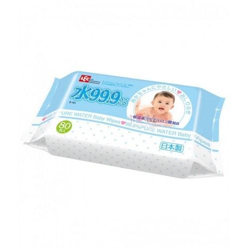 Детские влажные салфетки с гиалуроновой кислотой iPLUS 99,9%, мягкие (пушистые) 80шт/ 041614