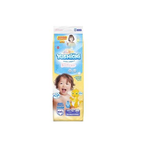 YOSHIOKI Трусики-подгузники детские одноразовые для мальчиков и девочек, размер XXL 15+кг, 36 шт./ 744682