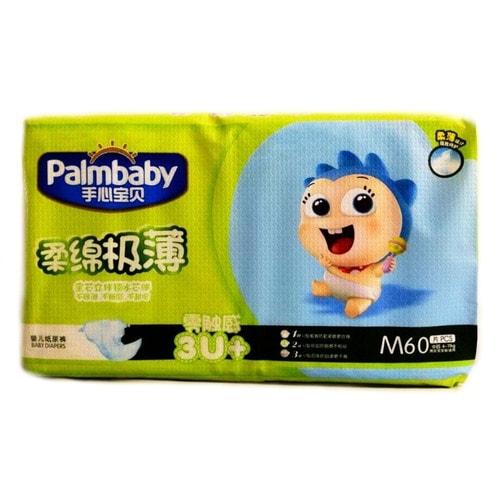 PalmBaby Подгузники M (6-11кг), 60 шт./ 000403