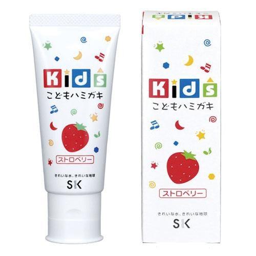 SK Kids Детская зубная паста с ароматом клубники 60 гр, Артикул: 600854