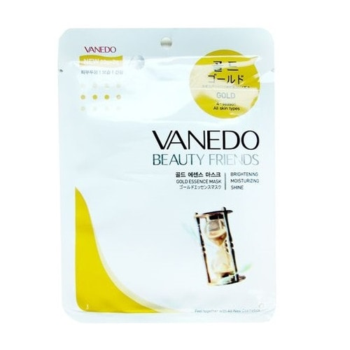 """All New Cosmetic """"Vanedo"""" Активирующая клетки кожи маска для лица с частицами золота"""