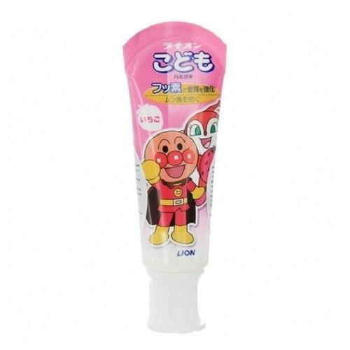 LION Детская зубная паста Клубника  40гр /795301