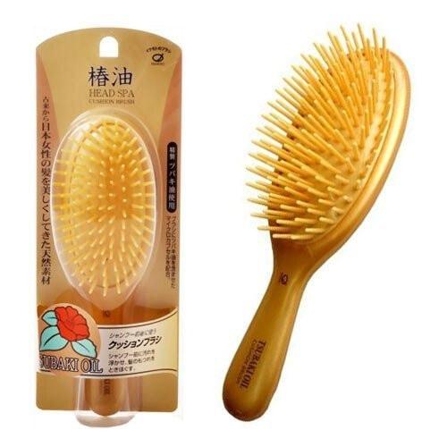 Ikemoto TsubakiOil Brush Щетка для волос с маслом камелии