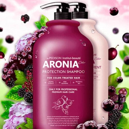 Evas Pedison Institute-beaut Aronia Color Protection Shampoo Шампунь с экстрактом аронии, 2000 мл