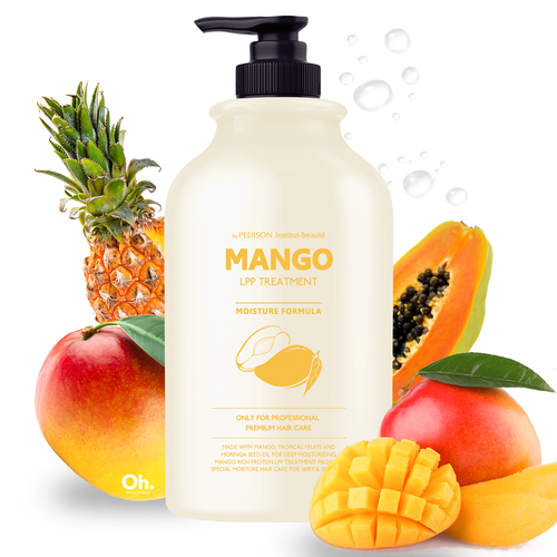 Evas Pedison Institut-Beaute Mango Rich LPP Treatment  Маска для волос Манго, 500 мл