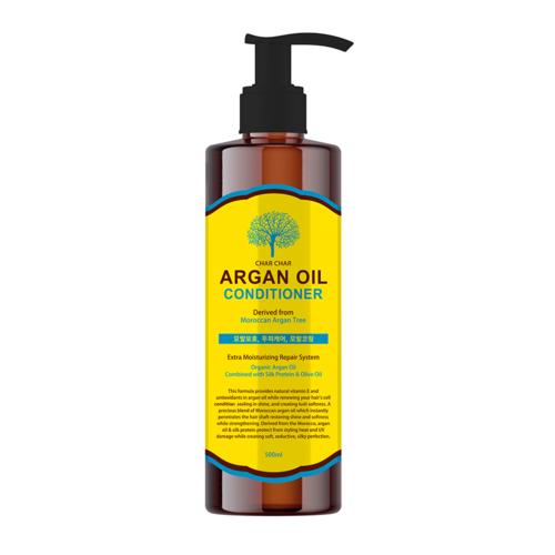 CHAR CHAR  Argan Oil Conditioner Кондиционер для волос с Аргановым маслом, 500 мл