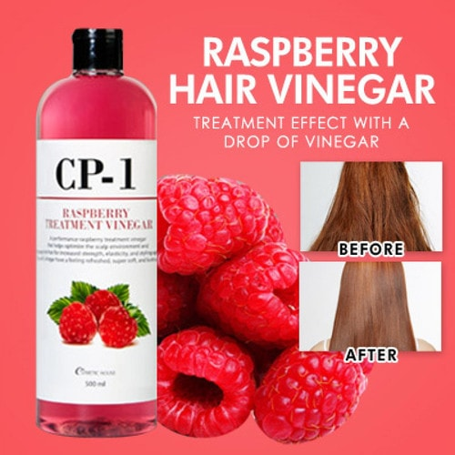 ESTHETIC HOUSE CP-1 Rasberry Treatment Vinegar Кондиционер для волос на основе малинового уксуса, 500мл./ 010179