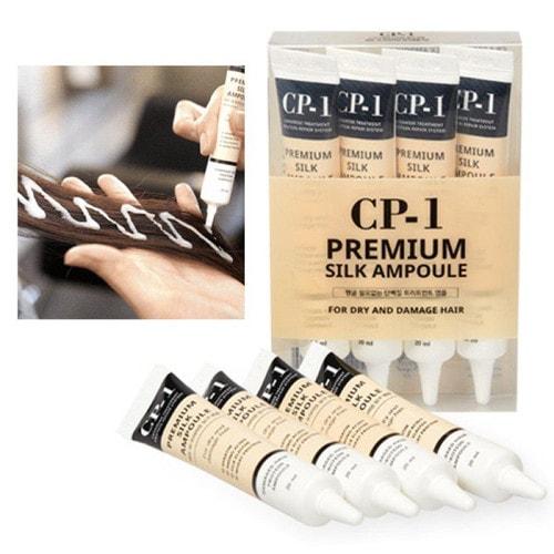 ESTHETIC HOUSE CP-1 Premium Silk Ampoule Несмываемая сыворотка д/волос с протеинами шелка , 20 мл./ 010582