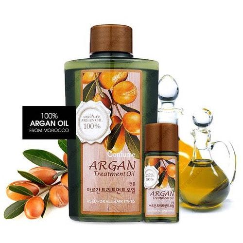 Welcos Confume Argan Treatment Oil Масло для восстановления волос с арганой, 120 + 25