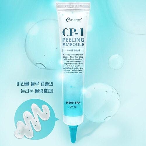 ESTHETIC HOUSE CP-1 Peeling Ampoule  Пилинг-сыворотка для кожи головы, глубокое очищение, 20 мл