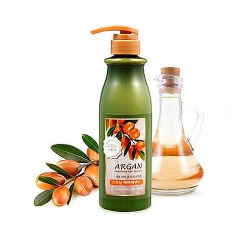 Confume Argan Smoothing Hair Essence  Эссенция для гладкости волос с аргановым маслом, 500 мл / 012979