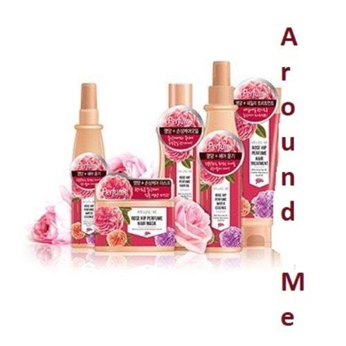 WELCOS Around me Rose Hip Perfume Water Essence Парфюмированная эссенция для волос, 200 мл / 028116