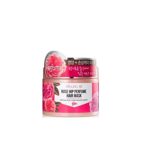 WELCOS Around me Rose Hip Perfume Hair Mask Маска для поврежденных волос