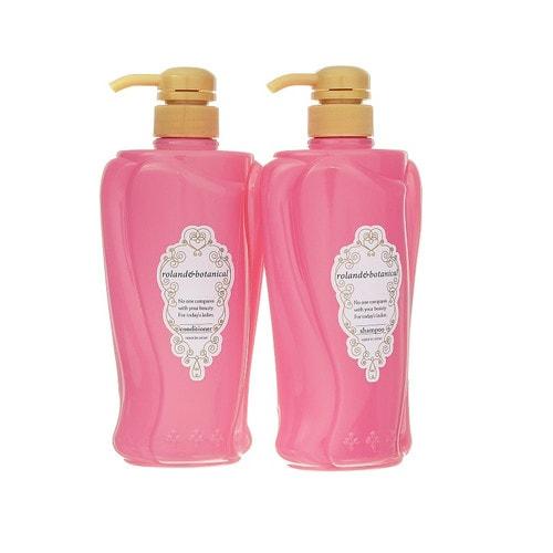 COSMETEX ROLADN Набор восстанавливающий шампунь  +кондиционер для придания блеска волосам