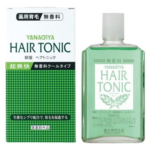 Yanagiya Hair Tonic  Тоник для роста волос, 240 мл.