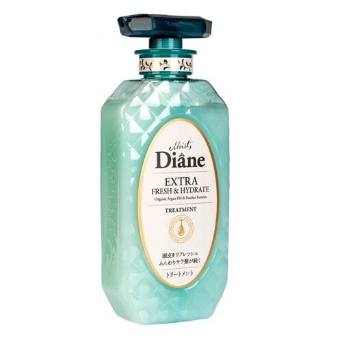 Moist Diane Perfect Beauty Бальзам-маска с кератином и аргановым маслом, Свежесть, 450 мл